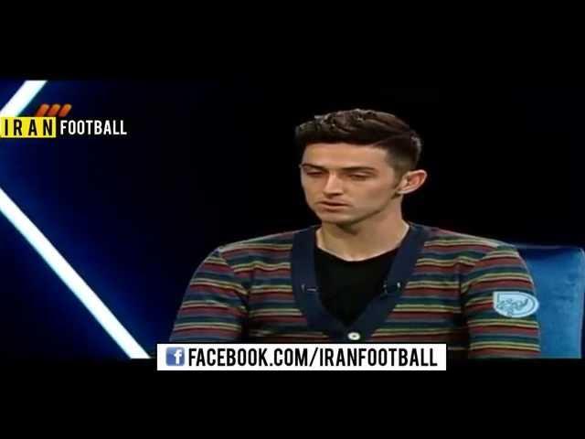 گفتگو با سردار آزمون پس از جام ملتهای آسیا