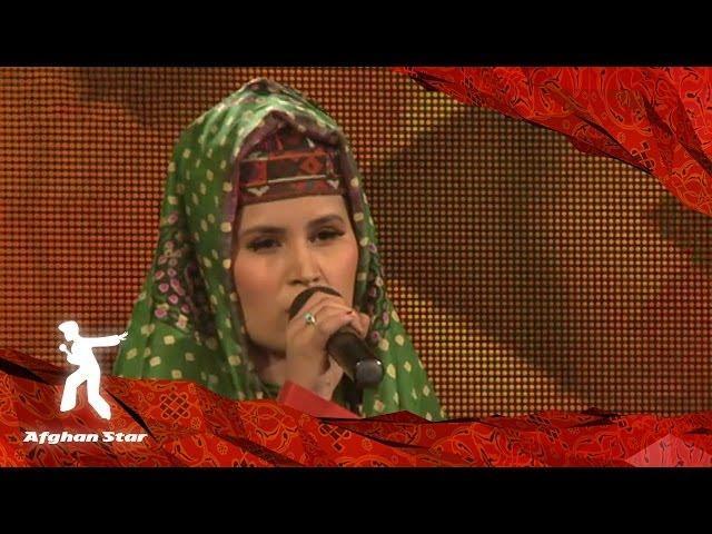 Anaheta Ulfat sings Salamalik Alai Jo from Farhad Darya