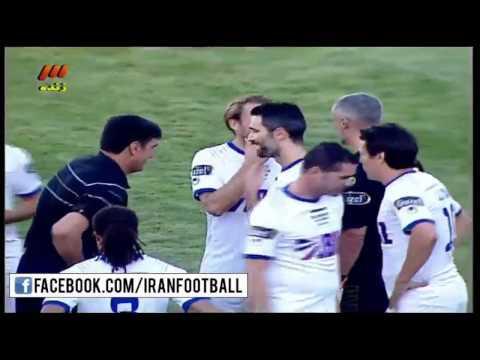Iran Stars vs World Stars Highlights - GOALS: Roberto Carlos, Luis Figo and Pauleta
