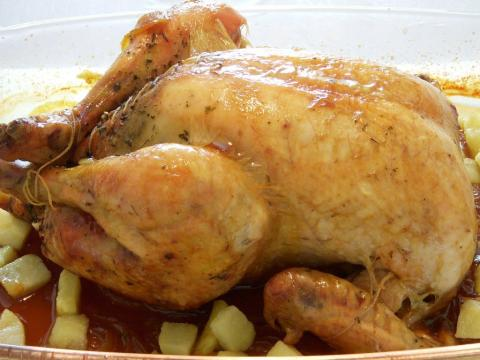 مرغ شکم پر Stuffed Chicken | Morgh Shekampor