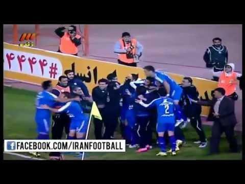 Esteghlal vs Naft Tehran FULL PENALTIES - 2015/16 Iran Hazfi Cup - Quarter Finals