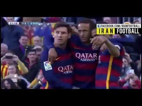 Barcelona vs Real Sociedad Extended Highlights - November 28, 2015 - Suarez Neymar Messi