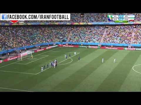 خلاصه بازی ایران و بوسنی - جام جهانی ۲۰۱۴  Iran vs Bosnia - 2014 FIFA World Cup