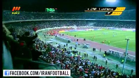 Perspolis Iran vs Al Hilal Saudi Arabia GOAL - 2015 AFC Champions League Round of 16
