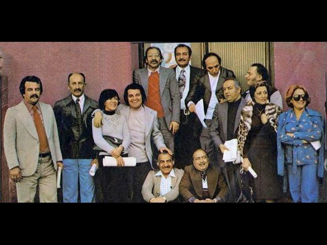 Shoma va Radio 7-برنامه شما و رادیو ۷: گلپا, ایرج, گوگوش , یاحقی, روحانی, بچه مرشد و دوستان