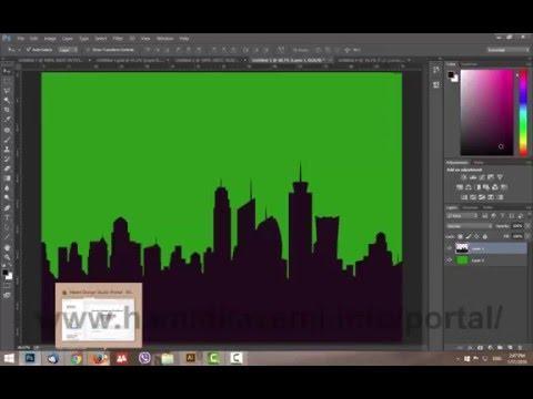 روش رنگ آمیزی سریع لایه ها در فتوشاپ