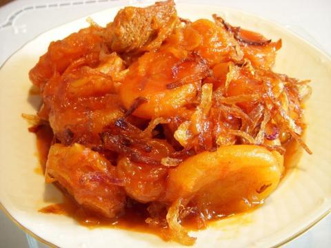 خورش قیسی Apricot Stew | Khoresh Gheysi