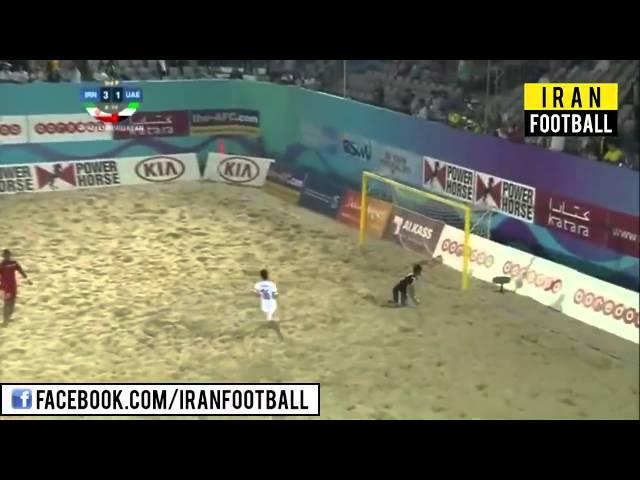 خلاصه بازی ایران و امارات - یک چهارم نهایی جام ملت های فوتبال ساحلی آسیا