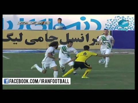 Zob Ahan vs Sepahan Highlights and Penalties - 2015/16 Iran Hazfi Cup - Semi Final