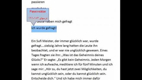 Lektion 300-B ( Ein Sufi Meister...)