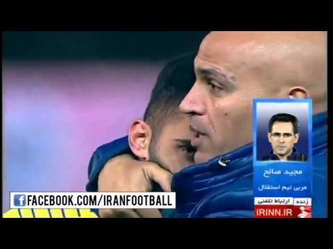 گفتگو با صالح درباره اتفاقات جنجالی پایان بازی نفت و استقلال