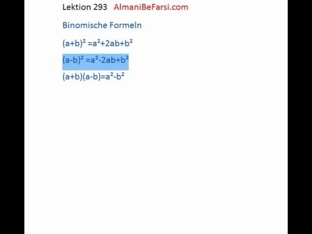 Lektion 292