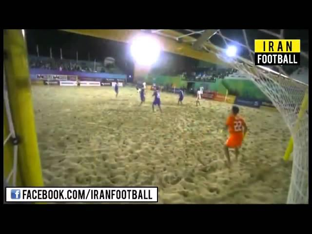 خلاصه بازی ایران و تایلند - جام ملت های فوتبال ساحلی آسیا