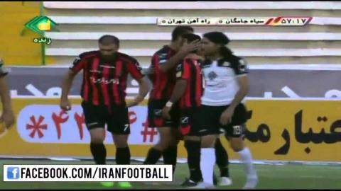 Siah Jamegan vs Rah Ahan Highlights - 2015/16 Iran Pro League - Week 5