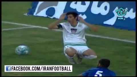 Zob Ahan vs Esteghlal Ahvaz Highlights - 2015/16 Iran Pro League - Week 5