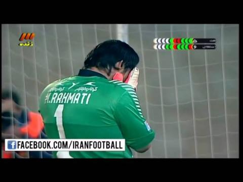 Mehdi Rahmati AMAZING SAVES ● Naft Tehran vs Esteghlal ● Penalties