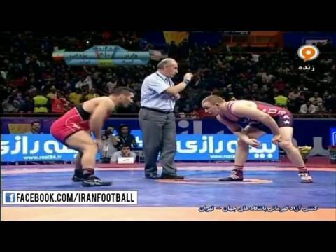 Reza Yazdani Smashes American Olympic Champion !