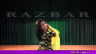 Razbar Ensemble: Apprentices' Traditional Persian Dance Iرقص اصیل ایرانی فارسی