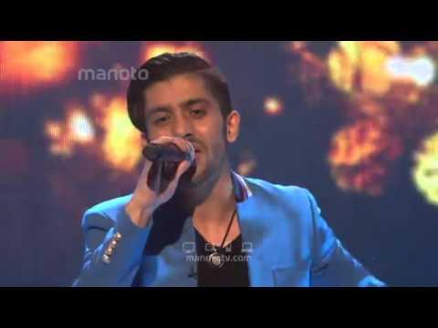 Milad J - First Live Performance At Manoto TV Stage میلاد - اولین اجرای زنده در منوتو