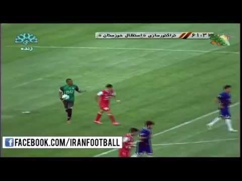Tractorsazi vs Esteghlal Khuzestan Highlights - 2015/16 Iran Pro League - Week 5