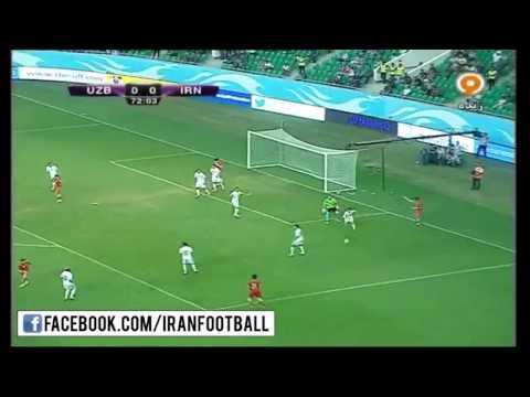 Uzbekistan vs Iran Highlights - International Friendly - June 11, 2015