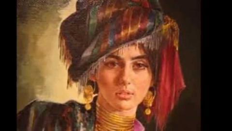 """Hananeh & Khaleghi-مظهر خالقی و استاد مرتضی حنانه :""""ئامان سه د ئامان"""", محلی کردی, با ارکستر فارابی"""