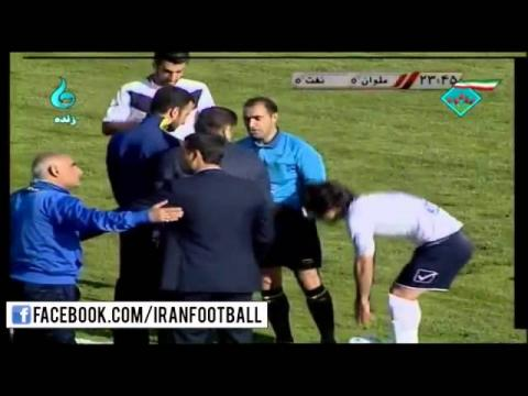 Malavan vs Naft Tehran Highlights - 2015/16 Iran Pro League - Week 19
