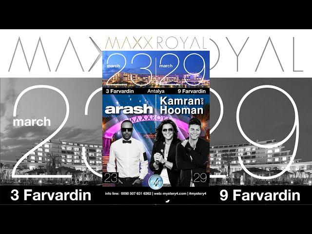 March 23rd (3 Farvardin) Arash AND March 29th (9 Farvardin) Kamran&Hooman (Antalya, Turkey)