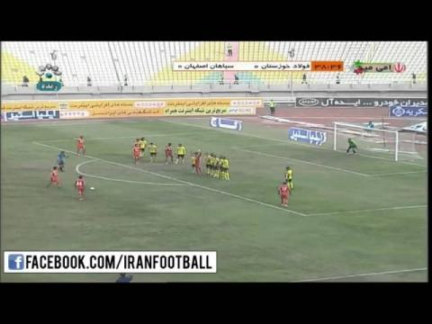 Foolad vs Sepahan Highlights - 2015/16 Iran Pro League - Week 19
