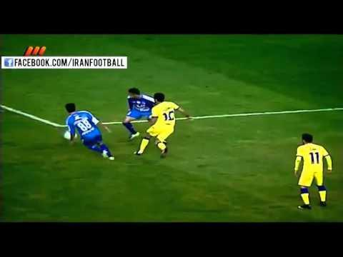 Esteghlal vs Naft Tehran Highlights and Penalties - 2015/16 Iran Hazfi Cup - Quarter Finals