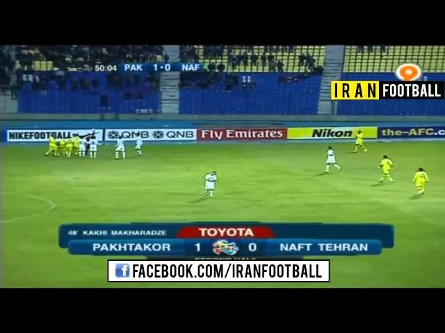 Pakhtakor Uzbekistan vs Naft Iran Goals and Highlights - 2015 AFC Champions League