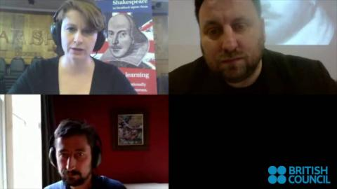 Exploring English: Shakespeare Live Blab 04/02/2016