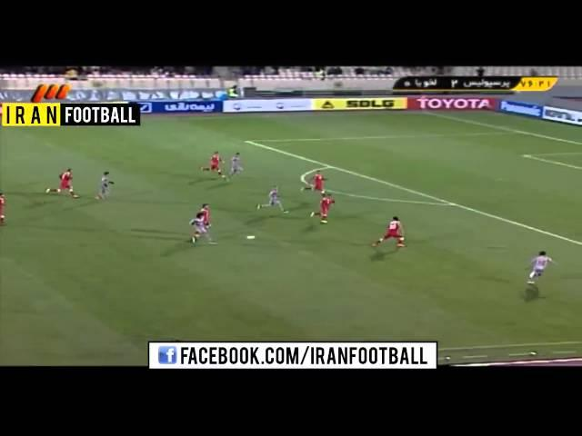 Perspolis Iran vs Lekhwiya Qatar Goals and Highlights - 2015 AFC Champions League