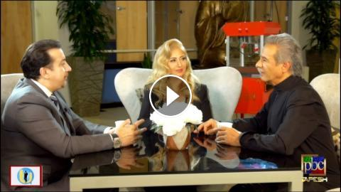Aref & Leila Forouhar - An Exclusive Interview at Tapesh Tv