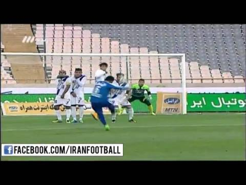 Esteghlal vs Esteghlal Ahvaz Highlights - 2015/16 Iran Pro League - Week 19