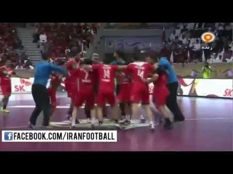Iran vs Bahrain Highlights - 2016 Olympic Handall Qualifying