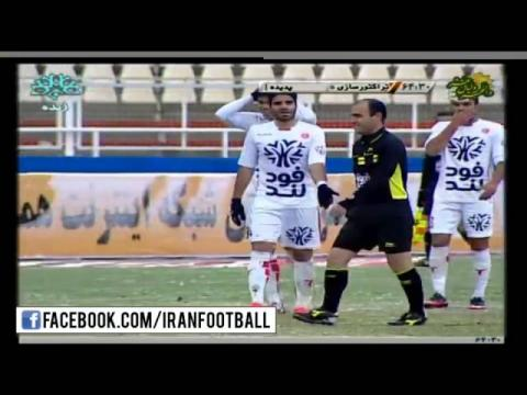 Tracktorsazi vs Padideh Highlights - 2015/16 Iran Pro League - Week 19